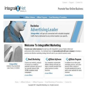 Integralnet Marketing - Website Design and SEO Project