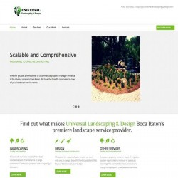 Universal Landscaping and Design
